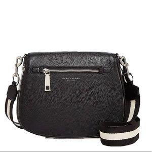 ❤️Marc Jacobs Gotham Saddle Bag, Black